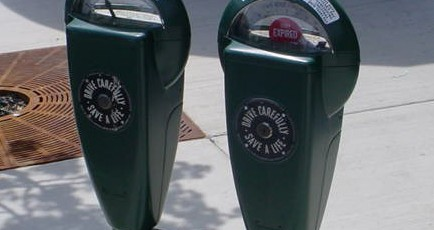 City of Sycamore penny parking meters