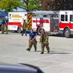 Sycamore Fire Department fire fighters